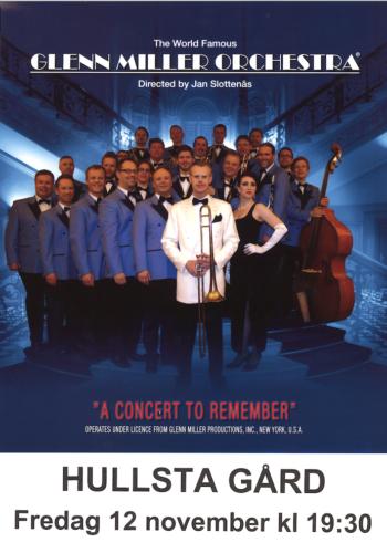 12/11 Glenn Miller Orchestra